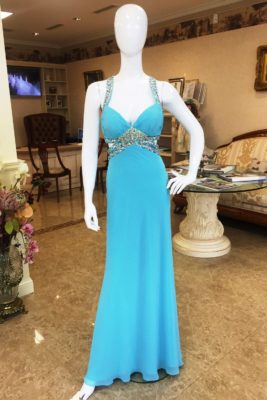 Платье Elina blu